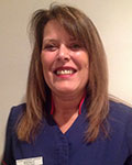 Wendy Price, receptionist at Gourley Veterinary Surgeons